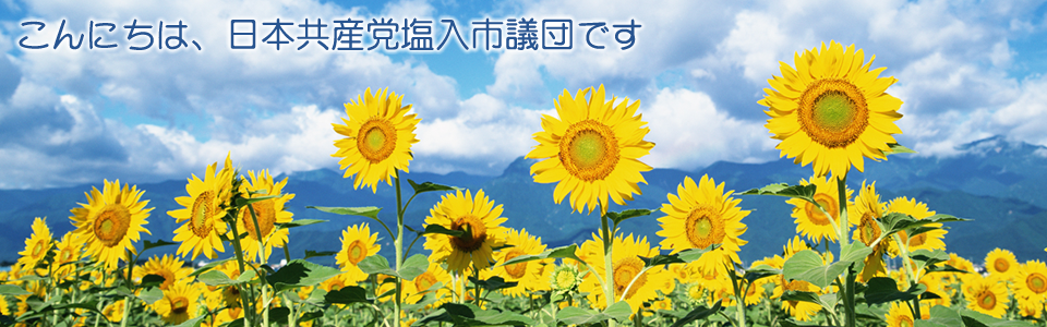 日本共産党議員(団)パッケージデモサイト